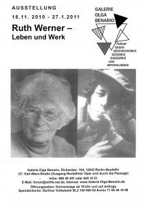 Plakat-Ruth-Werner